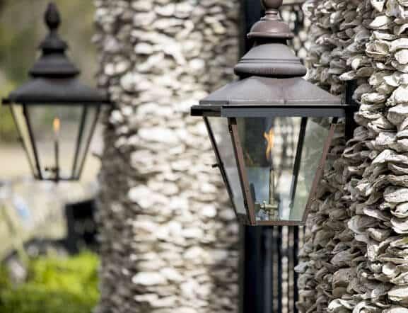 Outdoor Living, Gas Light, Backyard Light
